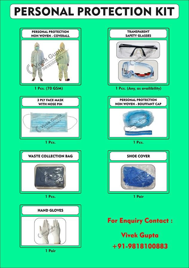 PPE Personal Protection Kit